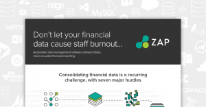 Infographic | Download | Don't let your financial data cause staff burnout
