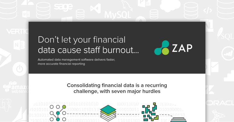 Automated data management for financial data