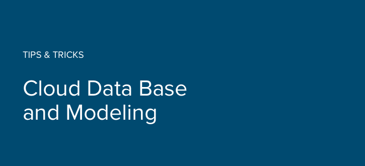 Cloud Database and Modeling